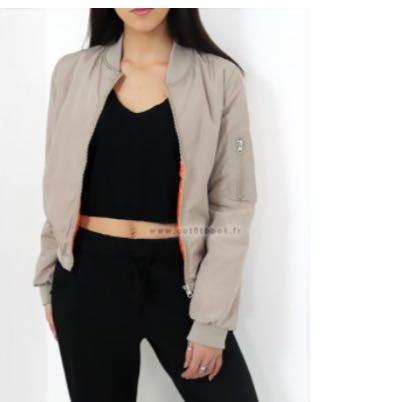 Beige jacke - (Farbe, Style, shoppen)
