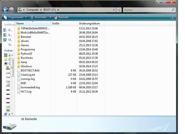 Hier ein Bild von meiner Festplatte. - (PC, Windows, Festplatte)