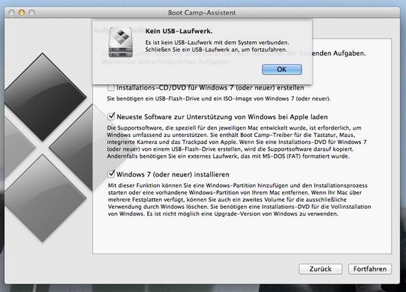 Fehlermeldung - (Windows, Mac, installieren)