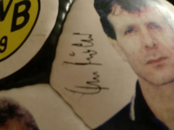 Unterschrift - (Sport, Fußball, Dortmund)