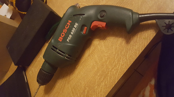 Bosch Bohrmaschine Bohrer wechseln?