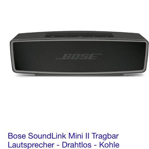 Diese Box habe ich. - (Bluetooth, Anlage, mini)