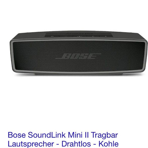 bose bluetooth box mit iphone 5 verbinden anlage mini. Black Bedroom Furniture Sets. Home Design Ideas