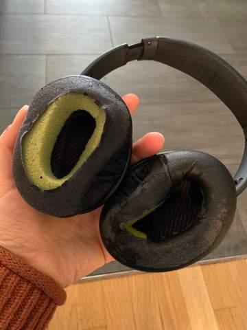Bose Köpfhörer neue Ohrmuschel bestellen/montieren lassen?