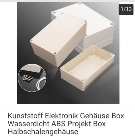 Box/ Kiste machen?