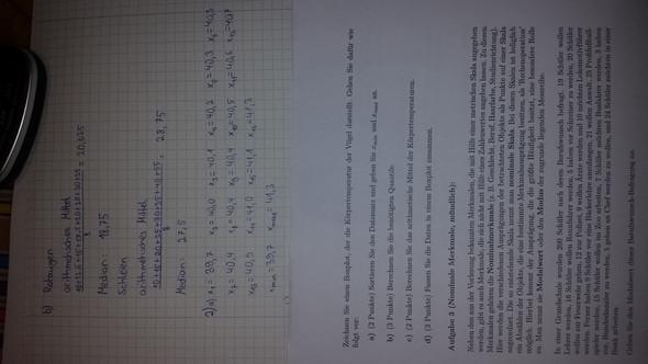 Die aufgelisteten Daten sind sortiert, das andere ist die Aufgabe... - (Schule, Mathe, Boxplots erstellen)