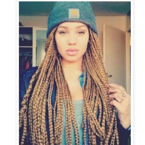 Braids Cool Girl