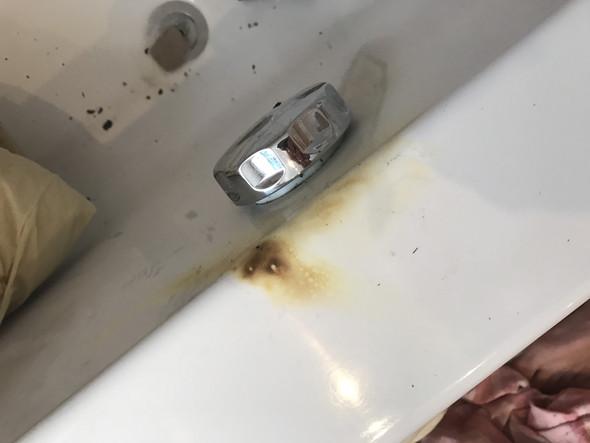 Badewanne Ausbessern.Brandflecken Aus Badewanne Ausbessern Feuer Brandfleck