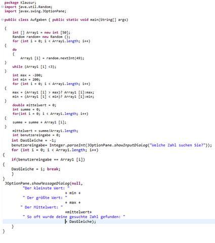 Der Code - (Programm, programmieren, Java)