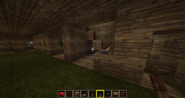 Schaltung innerhalb des Stalles - (PC, Minecraft, PC-Spiele)