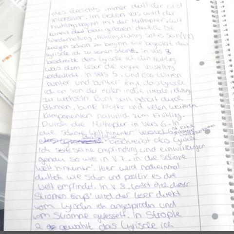 Seite 2 - (Schule, Deutsch, Gedicht)