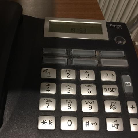 Telefon, Typ: Gigaset 5040  - (Telefon, Telefonnummer)