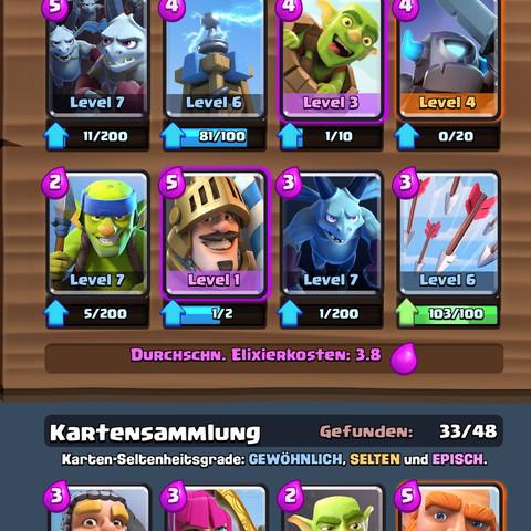 Mein deck - (Games, Technik, Clash Royale)