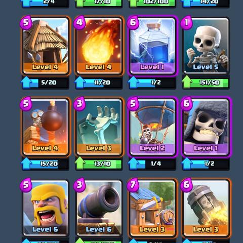 Karten - (Games, Technik, Clash Royale)