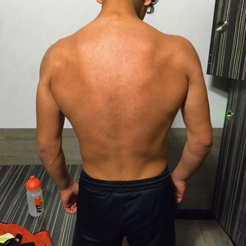 Rücken - (Körper, Fitness, Bodybuilding)
