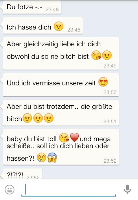 brauche eure hilfe :0 Nachrichten vom ex (Liebe, WhatsApp