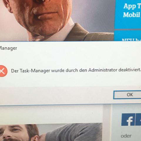 Siehe - (Taskmanager)