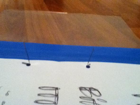 Dieses Metallteil oder welches Material auch immer :) - (Schule, Buero, Hefter)