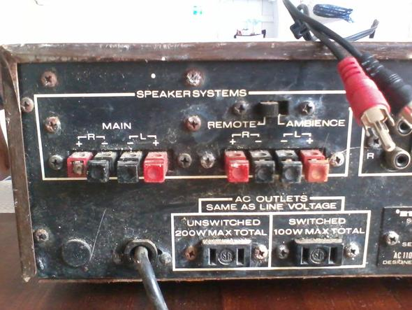 Verstäker 1 - (TV, audio, Boxen)