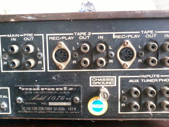 Verstärker 2 - (TV, audio, Boxen)