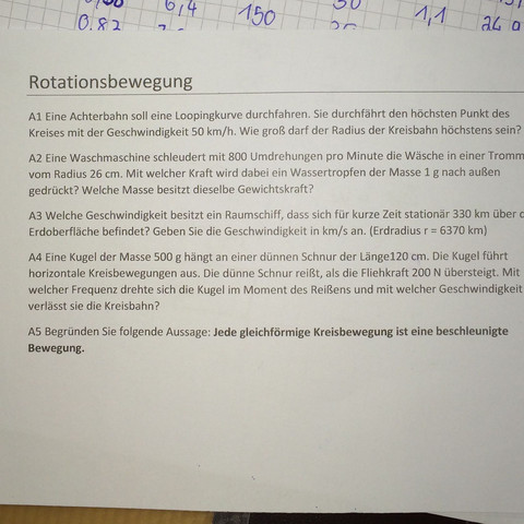 Hilfe bei A4 - (Schule, Mathematik, Physik)