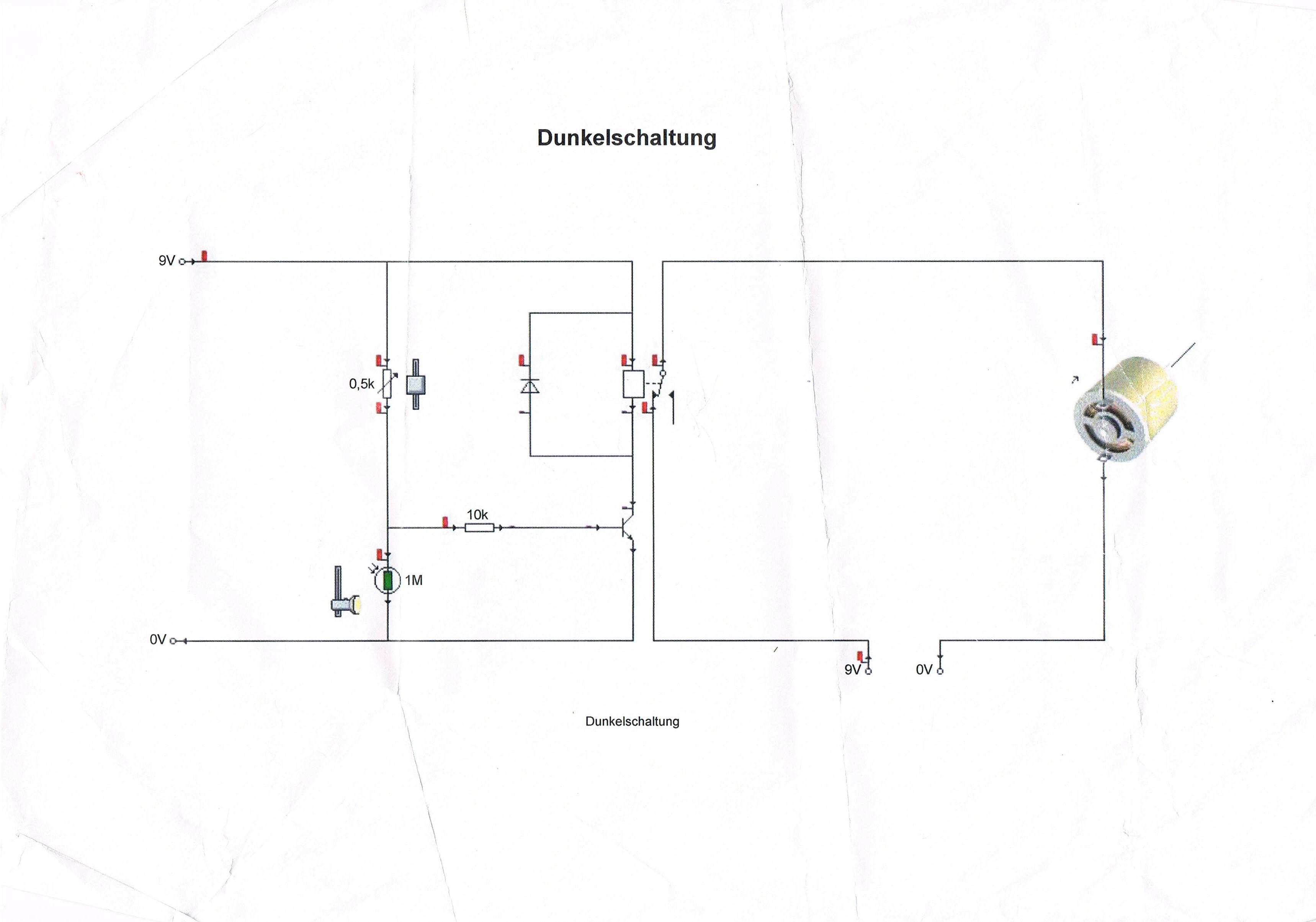 Brauche Hilfe bei der Dunkelschaltung? (Elektronik, Elektrik ...