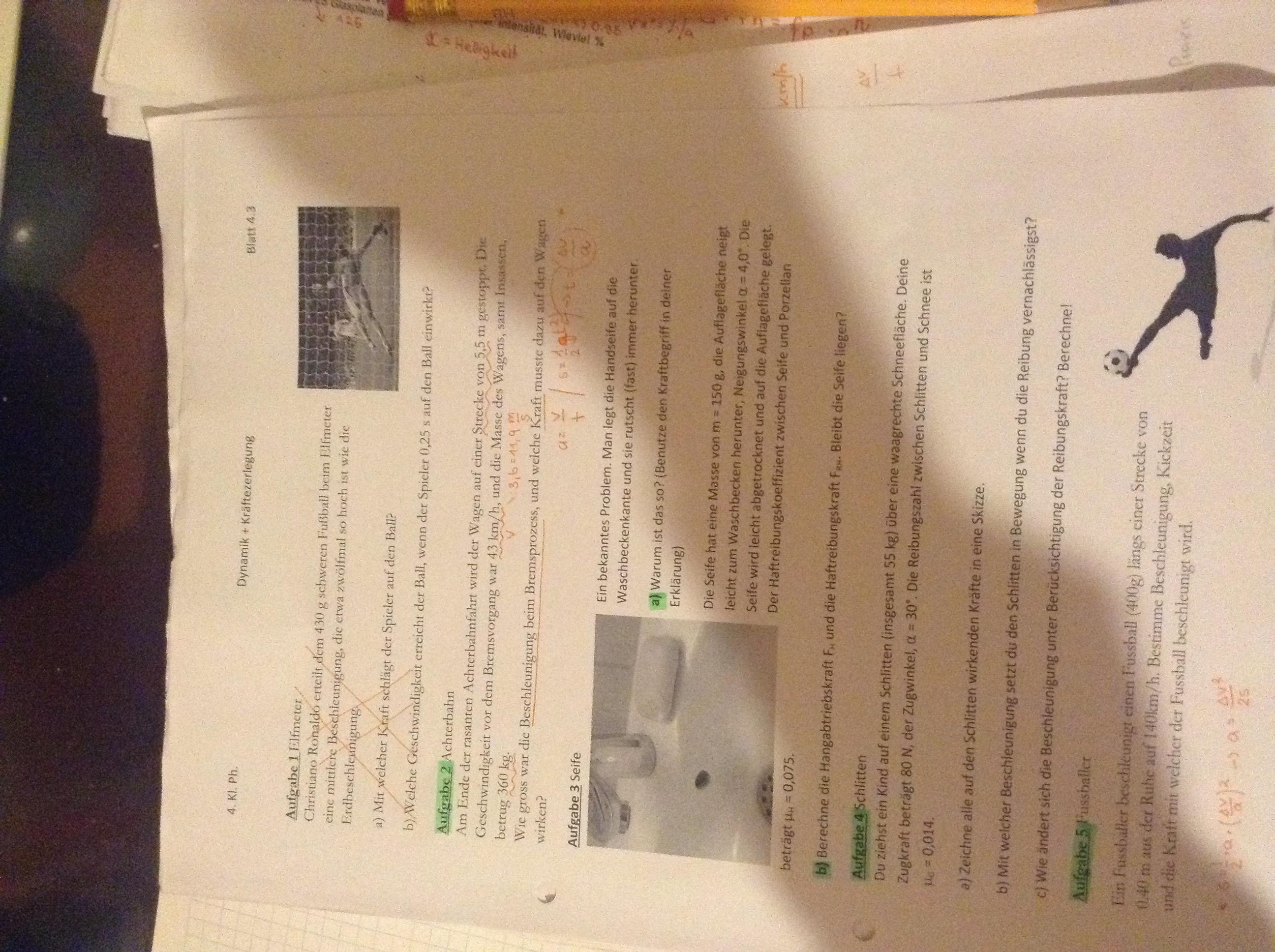 Brauche Hilfe bei diesen Physikaufgaben, kann jemand helfen? (Schule ...
