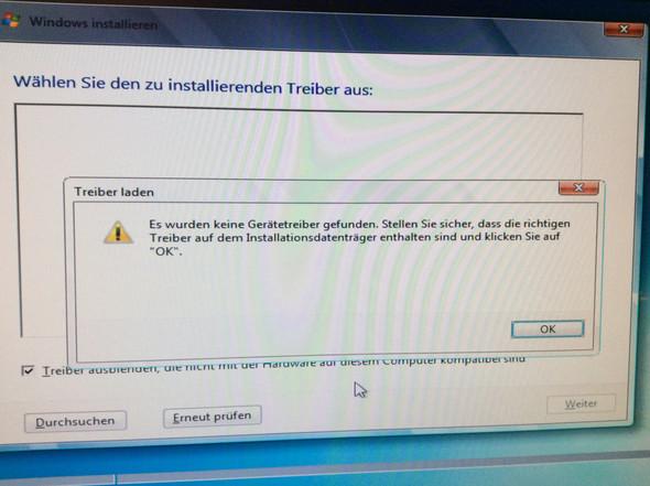 Fehlermeldung - (Computer, Windows 7)
