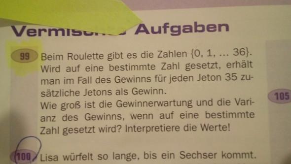 99) - (Schule, Mathe)