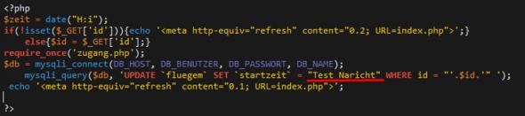 Mein Problembild - (programmieren, PHP, MySQL)