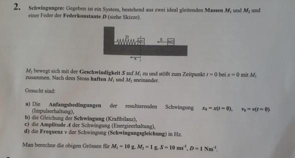 Aufgabe 2 - (Schule, Mathematik, Physik)