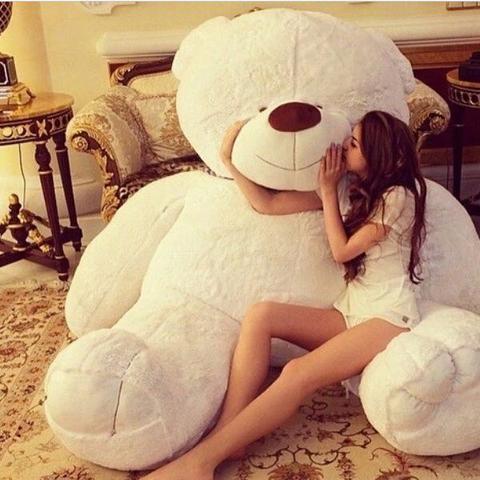 Brauche Riesenteddy mind. 2 m groß! Für meine Beste Freundin (Teddy ...