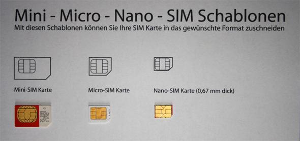 alte sim karte in neues handy Braucht mein Anbieter meine alte Simkarte (Mini) bei Bestellung