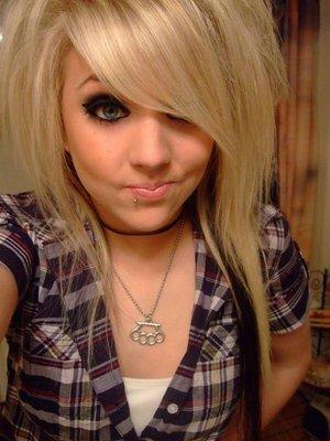 Blonde haare braun farben dann wieder blond