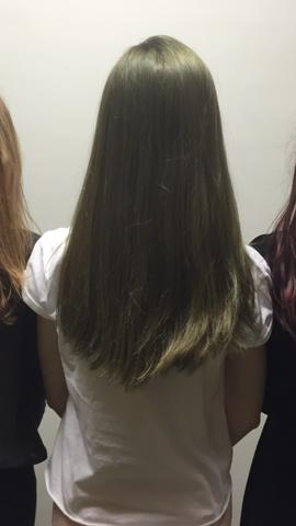 Braune haare mit 3 blondieren