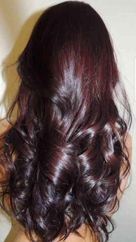 Braune haare mit rotstich blondieren