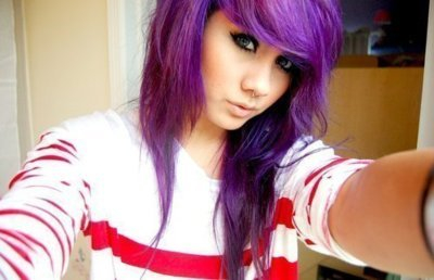 4. - (Haare, Kosmetik, scene hair)
