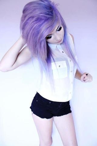 6. - (Haare, Kosmetik, scene hair)