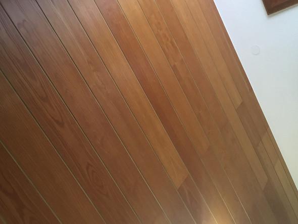 Braune Holzdecke Weiss Bekommen Ohne Streichen