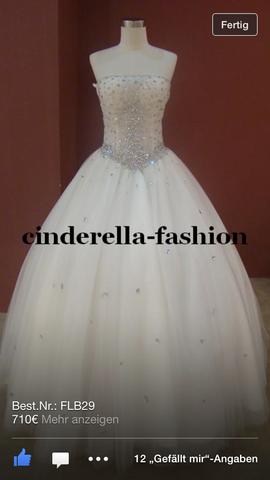 brautkleid / Hochzeitskleid (glitzer, Strass)