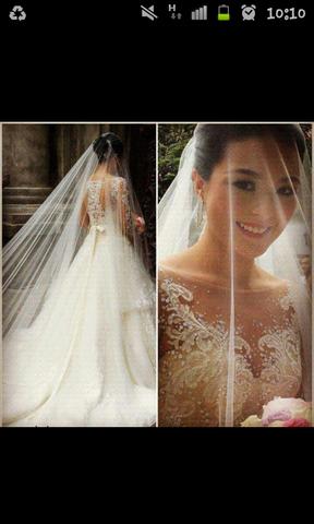 Das gesuchte Kleid - (Kleid, Hochzeit, Brautkleid)