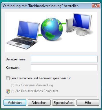 Breitbandverbindung - (Windows 7, Netzwerk, Alice)