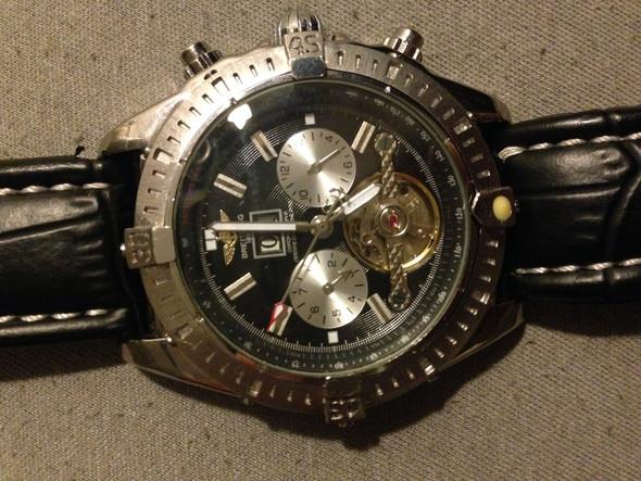 Breitling Vorderseite  - (Kleidung, Schmuck, Uhr)