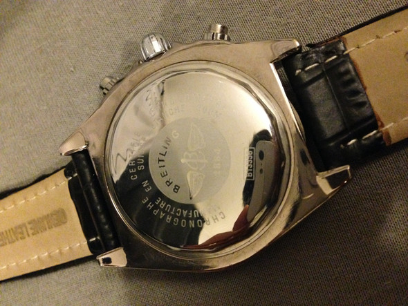 Breitling Rückseite - (Kleidung, Schmuck, Uhr)