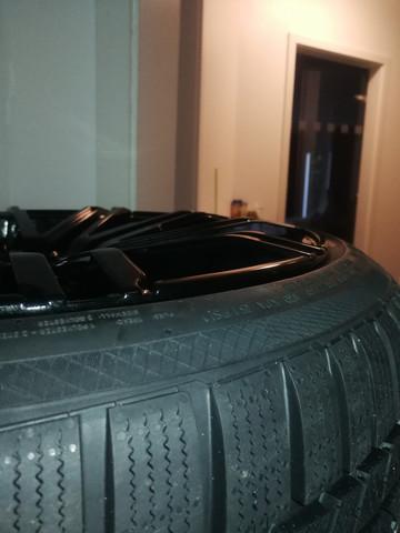 Bremst eine Felge die etwas aus dem Reifen hervor steht?