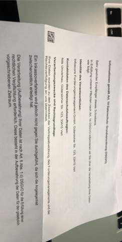 Was Bedeutet Brief Mit Zusatzleistung/Inkasso