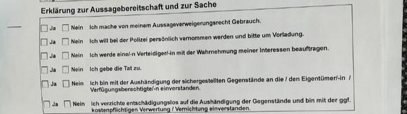 - (Recht, Polizei, Führerschein)