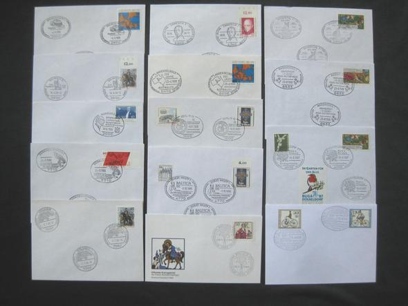 52 - (Wert, Mittelalter, Briefmarken)