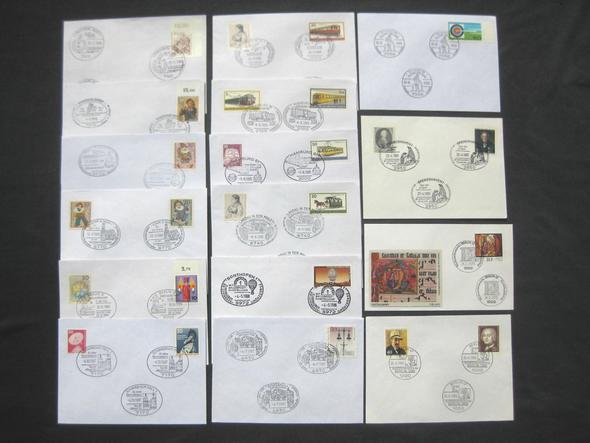 22 - (Wert, Mittelalter, Briefmarken)