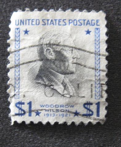 1 Dollar Wodrow Wilson - (Amerika, Briefmarken)